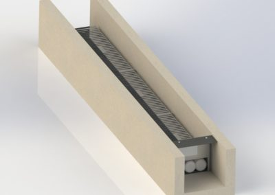 Fabco Industries Trench Drain Render