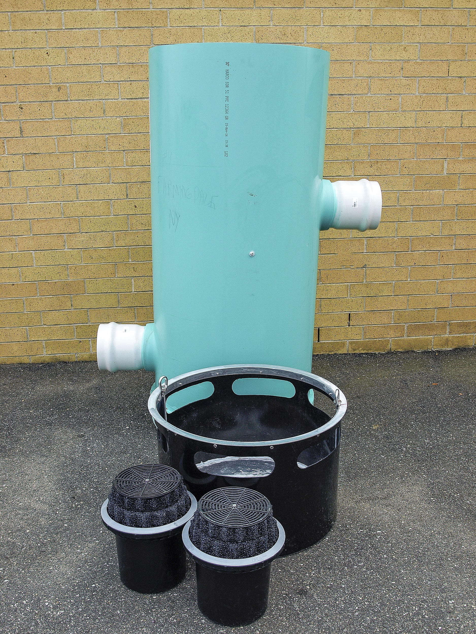 Fabco Industries Down Spout Filter System