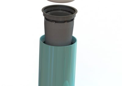 Fabco Industries Beehive Filter Expanded Render