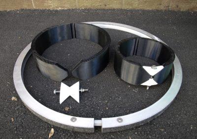 Fabco Industries Beehive Overflow Filter rings