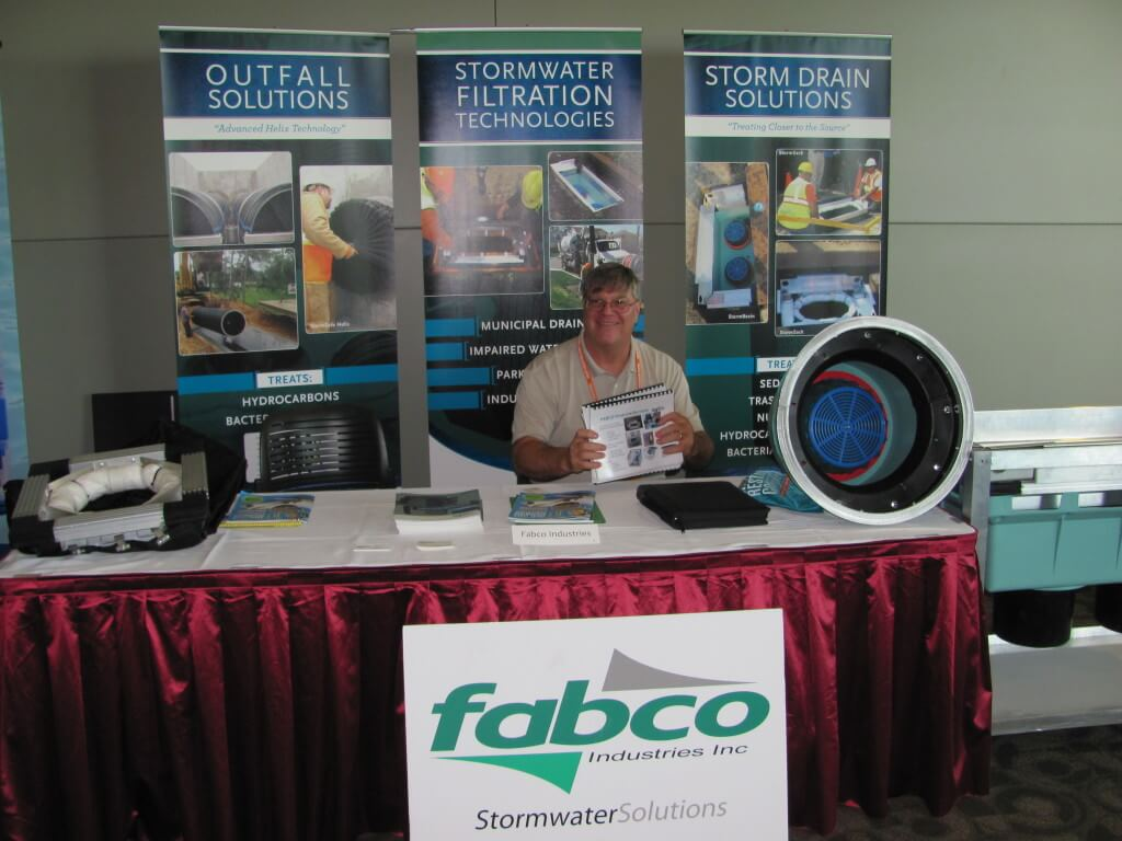 Stormwater filtration trade show