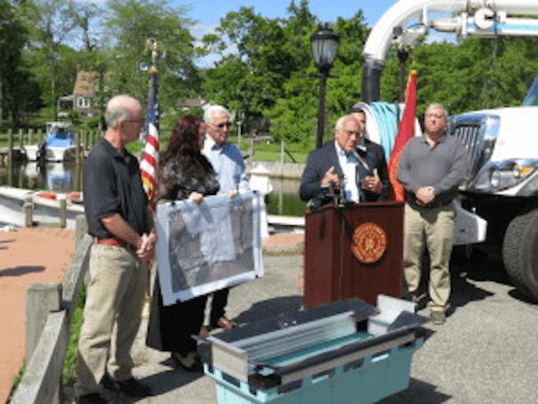Stormwater insert long island community partnership