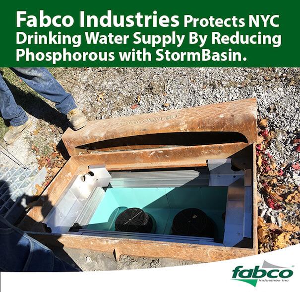 Stornmwater filtration installation