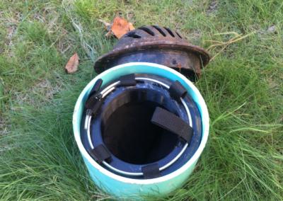 fabco industries beehive rain garden overflow stormwater drain