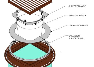 Fabco Industries Beehive Overflow Filter Drawings