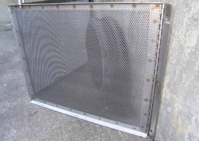 fabco industries connector pipe screen cps trash and debris filter system