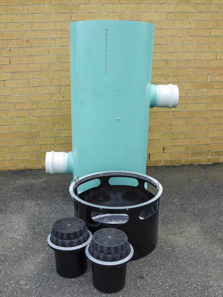 Below Ground DownSpout Stormwater Filter System