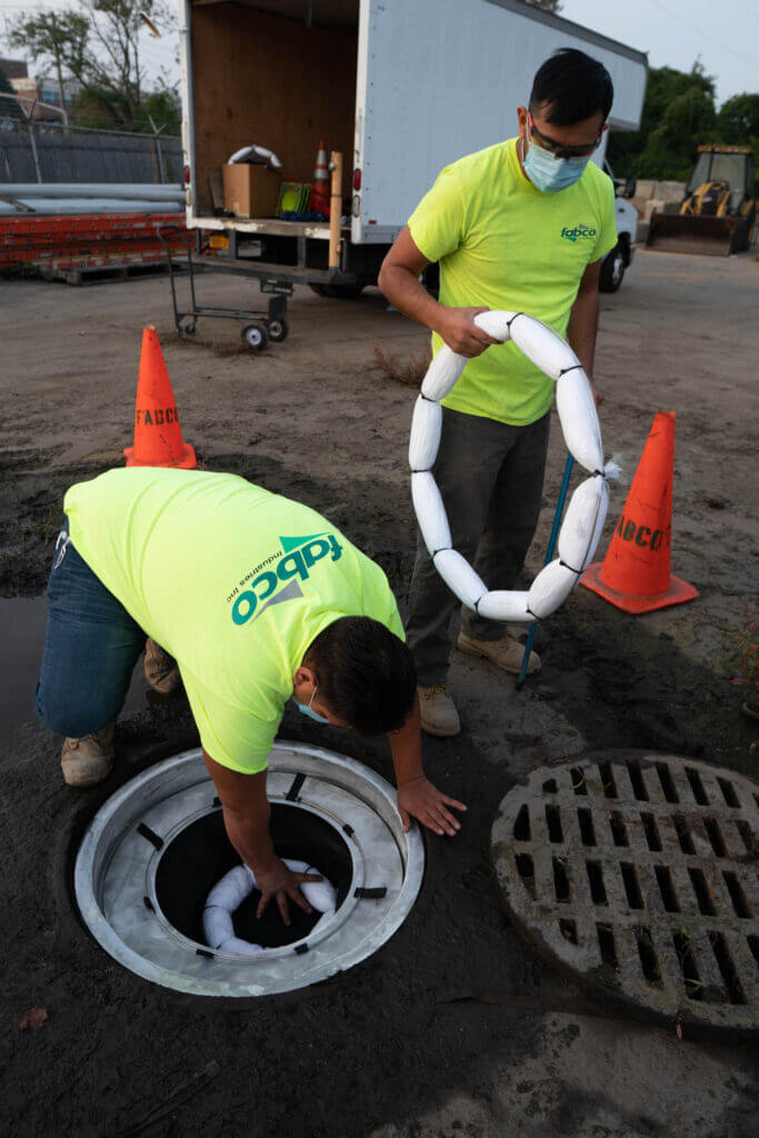 Fabco stormwater on-site engineering help