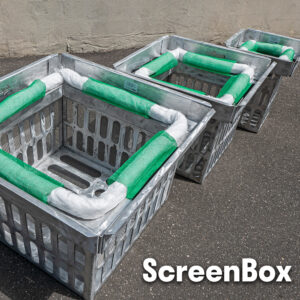 ScreenBox adjustable stormwater catch basin filter grate inlet skimmer