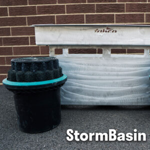 StormBasin cartridge based stormwater inlet filtration system