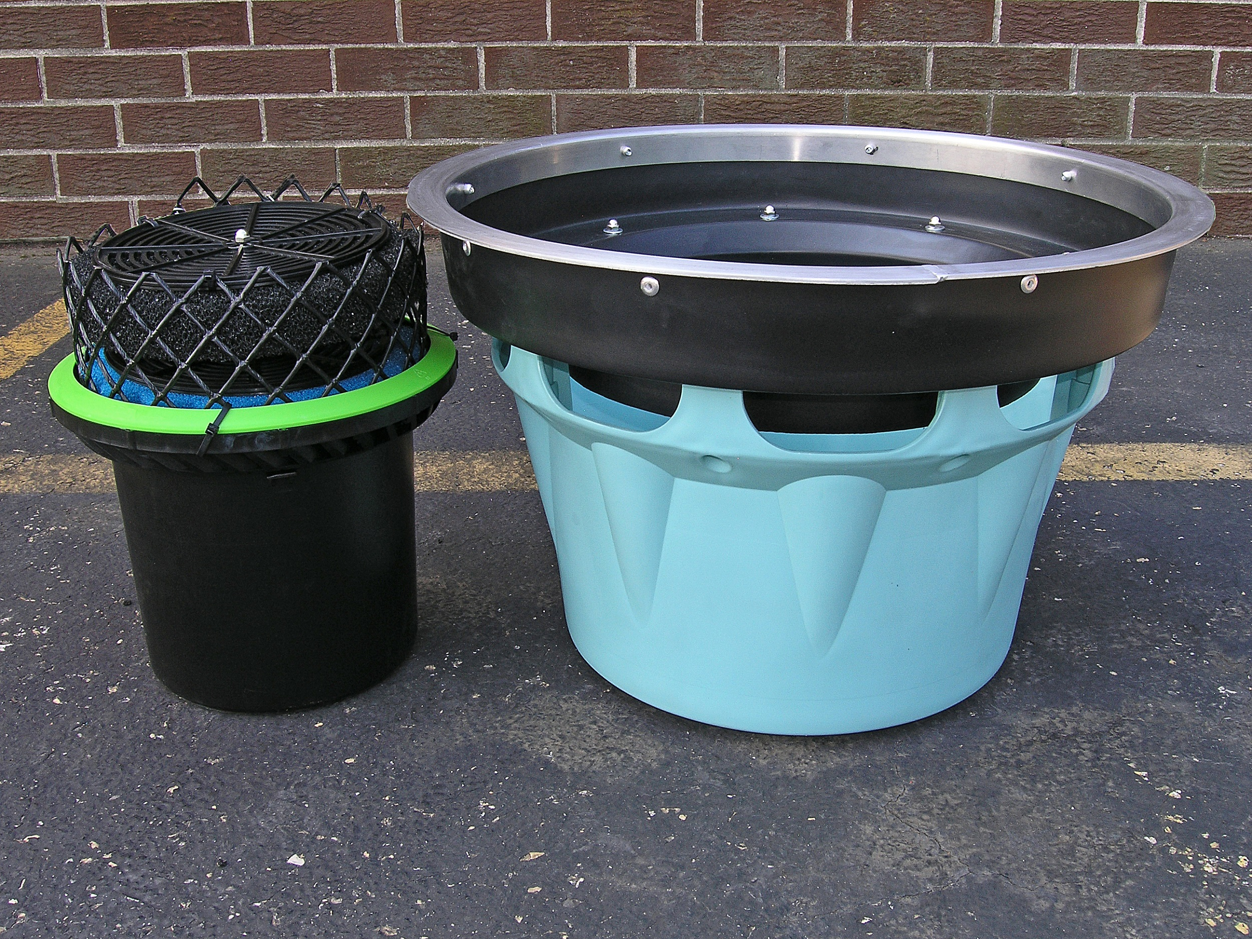 StormBasin Round Stormwater Filter Configuration