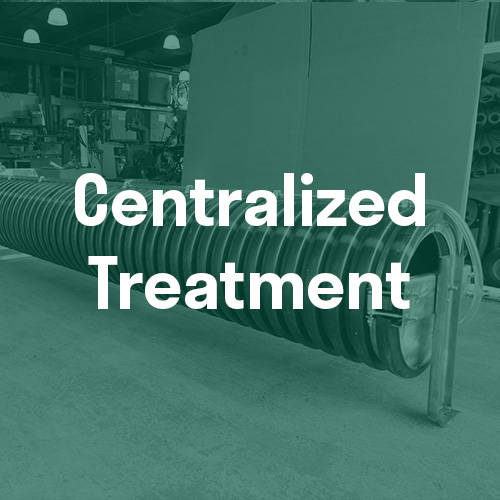 Centralized Treatment for Stormwater Filtration Systems