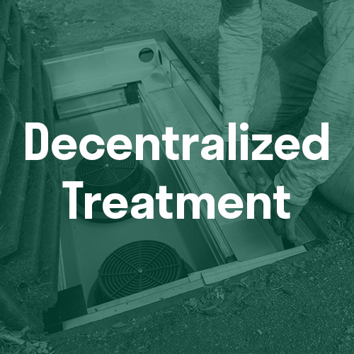 Decentralized Treatment Stormwater Filtration