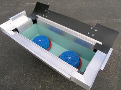 stormbasin catch basin insert filter side