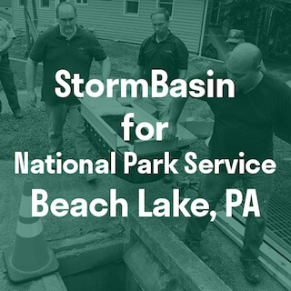Catch basin inserts install PA