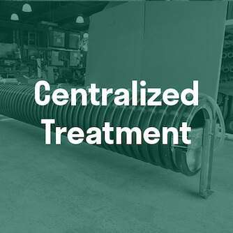 Centralized Stormwater filtration Treatment