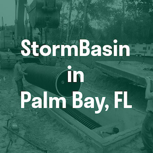 Curb inlet stormwater filter in FL