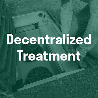 Decentralized Stormwater filtration Treatment