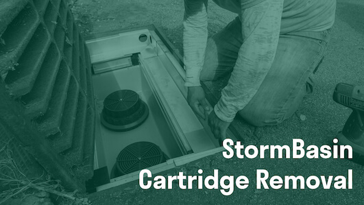 Stormwater cartridge replacement