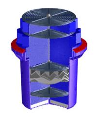 Stormwater filter cartridge media