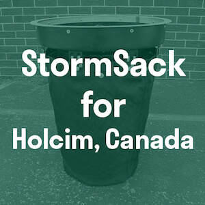 Stormwater filter unit for Canada