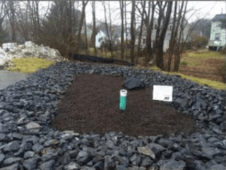 Stormwater filtration management