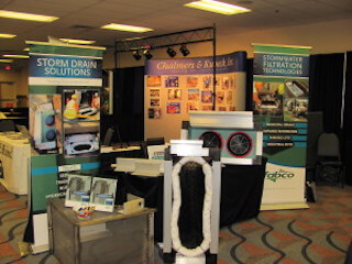 Stormwater tradeshow booth