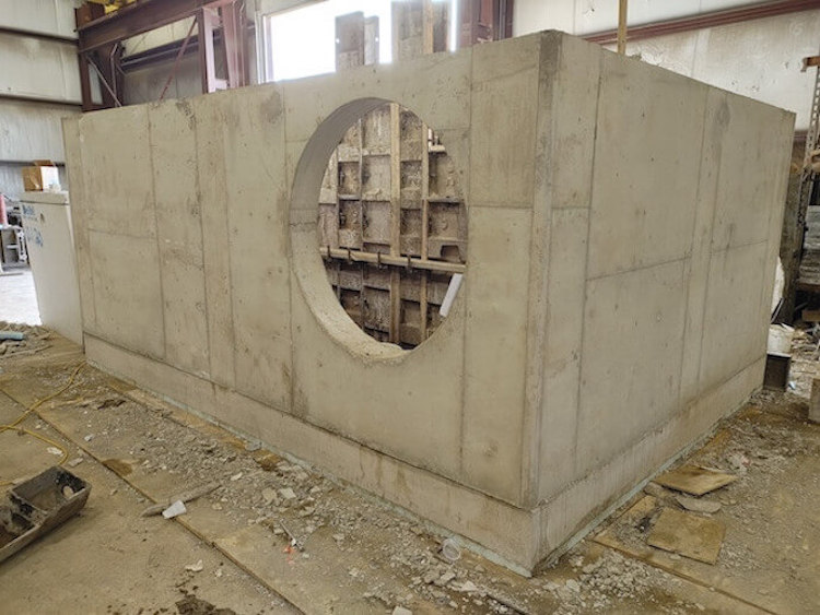 Stormwater valt in production