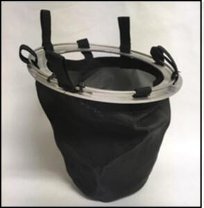 beehive rain garden filter geotextile bag