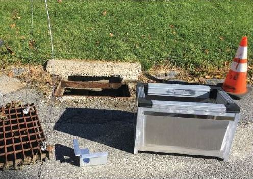 brewster heights stormbasin installation field photo