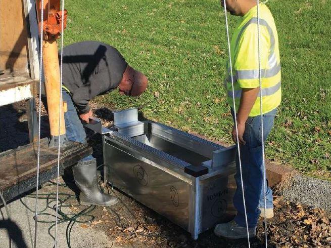 brewster heights stormbasin installation