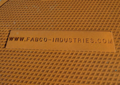 fabco industries branded stormwater grate cover