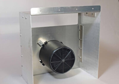 fabco industries cartridge filter table single cartridge configuration rear view