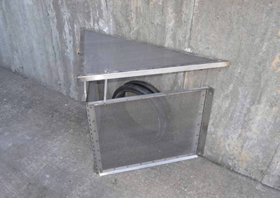 fabco industries connector pipe screen trash and debris capture device 2