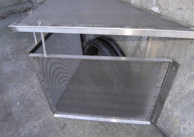 fabco industries connector pipe screen trash and debris capture device 3