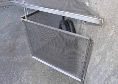 fabco industries connector pipe screen trash and debris capture device 4