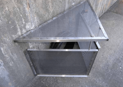 fabco industries connector pipe screen trash and debris capture device