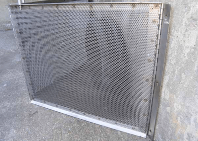 fabco industries connector pipe screen trash and debris capture device 5