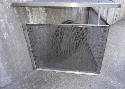 fabco industries connector pipe screen trash and debris capture device 6