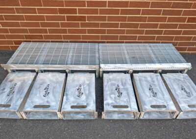 fabco industries flume screenbox trash and debris capture device filter out 2