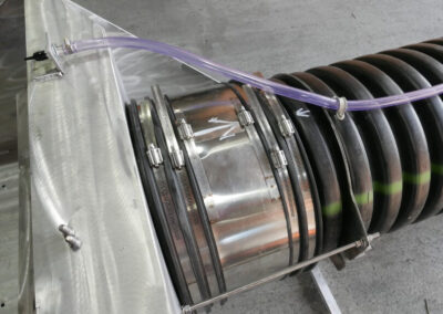 fabco industries helix filter system stormwater bacteria removal corrugated pipe