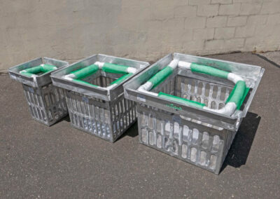 fabco industries screenbox curb inlet basket trash and debris capture device 3 sizes