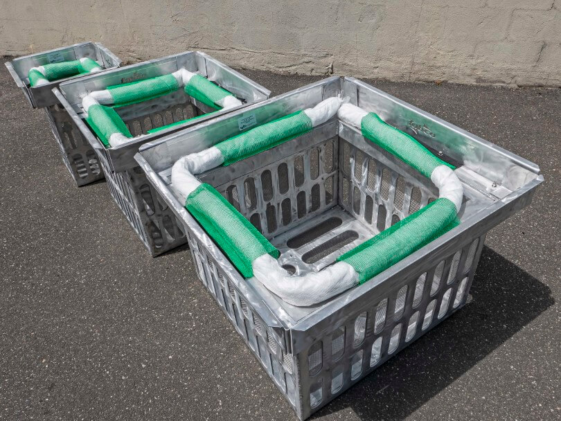 fabco industries screenbox grate inlet skimmer trash and debris capture device 3 sizes tall angle