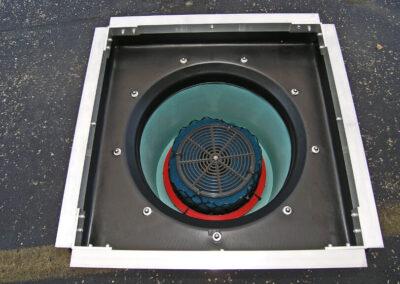 fabco industries stormbasin cartridge based stormwater filter single cartridge configuration