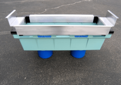 fabco industries stormbasin cartridge based stormwater filter system plastic basin 3 flanges