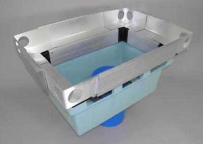 fabco industries stormbasin cartridge based stormwater filter system plastic basin