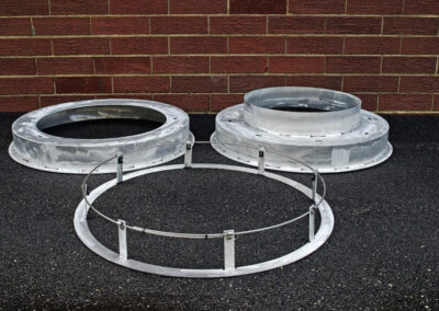 fabco industries stormsack bmp geotextile stormwater filter bag frame types upside down