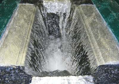 fabco industries stormsack plus geotextile stormwater filter system water flow into bag