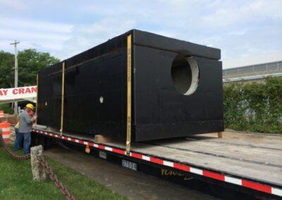 fabco industries stormsafe cartridge vault on truck 3