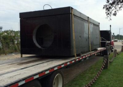 fabco industries stormsafe cartridge vault on truck 4